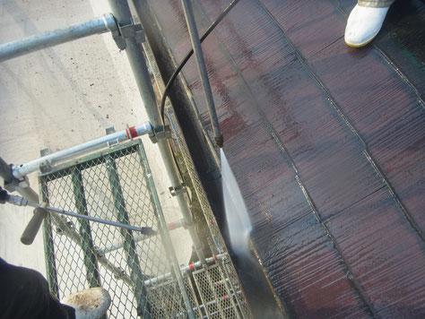 屋根 塗替え 洗浄