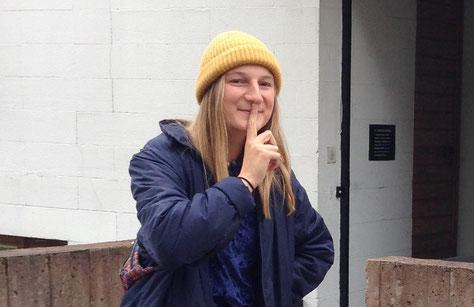 Hannah berichtet von ihren ersten Wochen