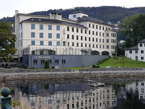Geschlossen: das St. Paul Gymnas in Bergen