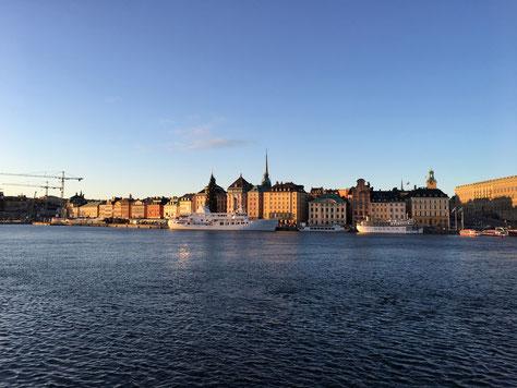 Unsere erste Reise nach Stockholm