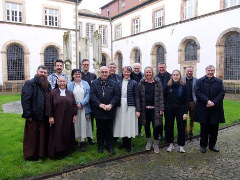 Zusammen mit der Nordischen Bischofskonferenz in Hardehausen