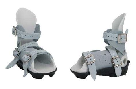Mitchell Fußhalterungen, geformtes Fußbett aus Gummi, Wildleder