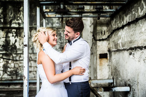 Afterweddingshooting in Wittenberge mit mir als Hochzeitsfotografen.