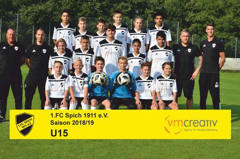 1. FC Spich 1911 e.V., vm-creativ GmbH, Sandra Thurow