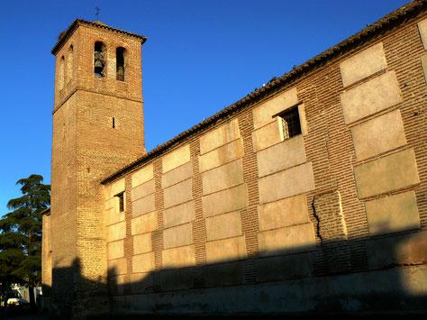 Iglesia Parroquial de San Julián y Santa Basilisa -S.XVI-. Torrejón del Rey (Guadalajara)