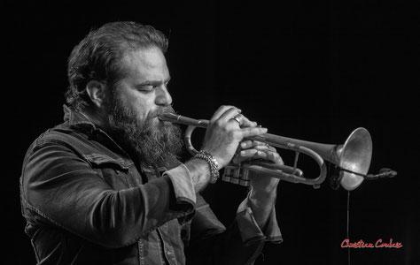 Nicolas Gardel invité par Høst, Festival JAZZ360 2021. Salle culturelle de Cénac, vendredi 4 juin 2021. Photographie © Christian Coulais
