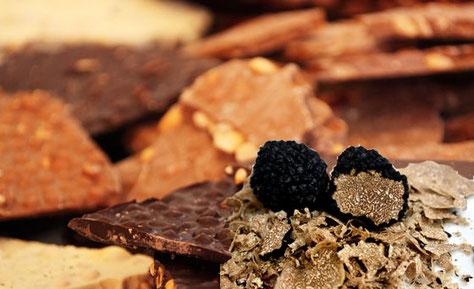 Mit unserem Rezept können sie ganz einfach ihre eigene Trüffelschokolade kreieren. Überraschen sie ihre Liebsten oder Bekannten mit einer Luxusschokolade.