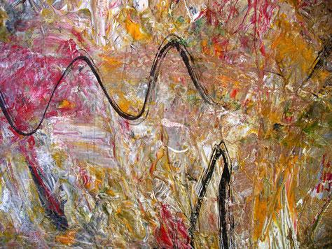 Pintura acrílica sobre lienzo, obra propia