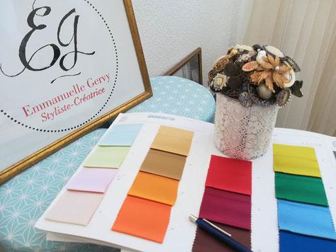 choix-tissu-gammes-couleurs-création-sur-mesure-robe-de-cocktail-grenoble