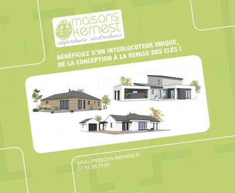 Maisons Kernest, constructeur en coopérative pour construire votre maison neuve à Guichen (35580)