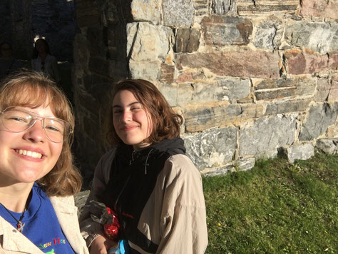Klara und Antonia in Oslo