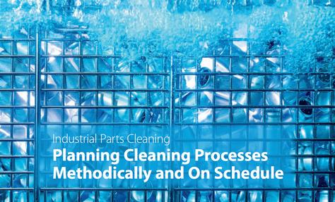 Process nettoyage de pièces dans l'industrie
