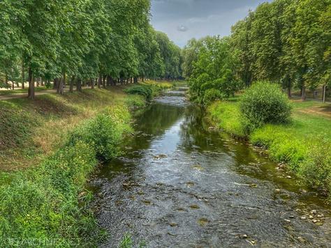 Ahr im Juni 2020, Bad Neuenahr-Ahrweiler