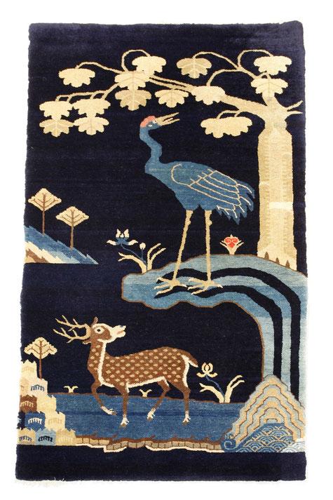 Chinese knotted carpet, Art Déco Wiesbaden Regine Schmitz-Avila