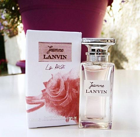 JEANNE LANVIN -LA ROSE EAU DE PARFUM, 4,5 ML