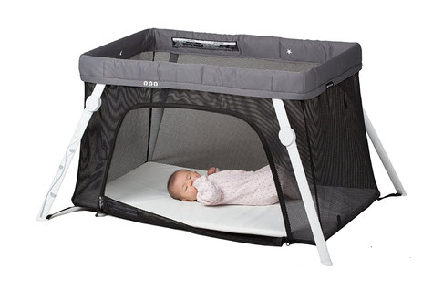 The Lotus travel crib is one of the best baby travel cots
