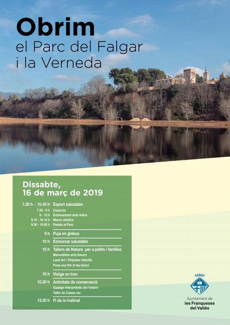 EduCA Viladrau dinamitzarà l'obertura del Parc del Falgar a Les Franqueses
