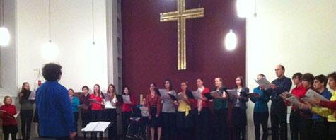 Abschlusskonzert des Sommersemesters 2011 am 09.10.2011 in der Erlöserkirche Heidelberg