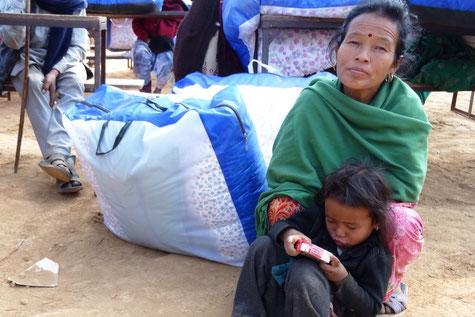 Lichtblick, Uljyalo, blankets, Winter, Spende, Hilfe, dankbar, Kinder