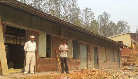 "© Fotos: am ""Shree Narayasthan Lower Secondary School"""