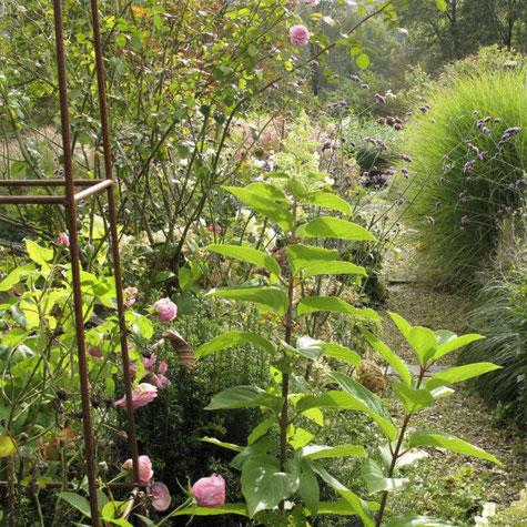 Jardin d'ambiance créé par Jean Nickell