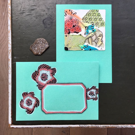 HAPPY At A Stone And The Birthday Card My Pattern PROSA Envelope