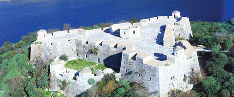 Alb.-Riviera. Burg v. Ali Pasha