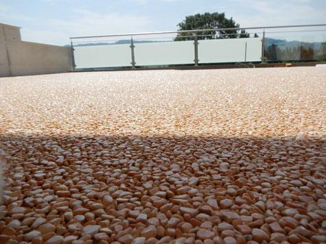 Steinteppich Marmor Terrasse