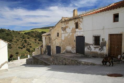 A street in Agrón