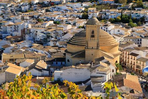 The church Iglesia de La Encarnación