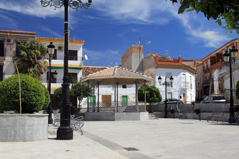 The main square of Salar