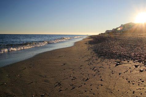 The beach Cambriles, Lújar