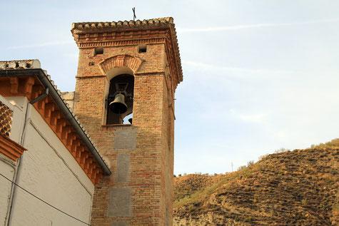 The church of Pinos genil