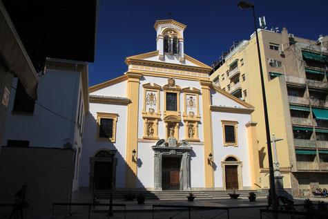 The facade of Iglesia Nuestra Señora Gracia