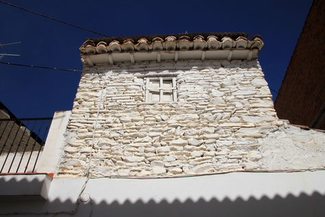 Detail of a house in Beas de Guadix