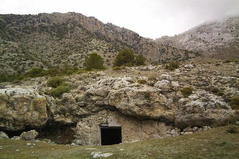 Cueva del Agua de la Sagra, Huéscar, Granada