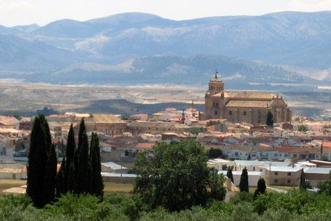 View on Huéscar