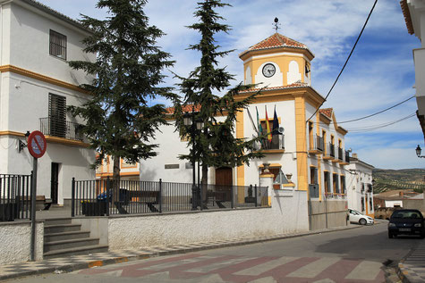 The town hall of Jayena