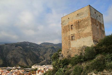 Castle Ulloa in Vélez de Benaudalla