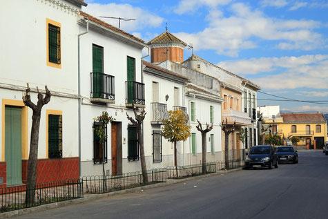 The main street of Valderrubio