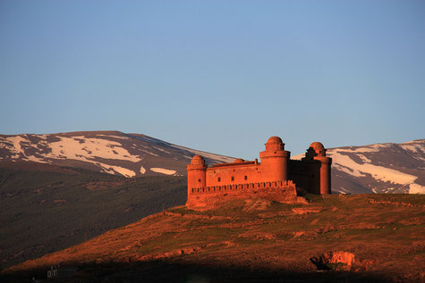 The castle of La Calahorra