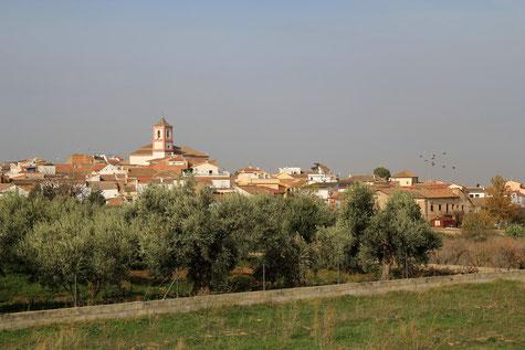 View on Villa de Otura