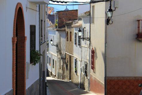 A street in Mondújar
