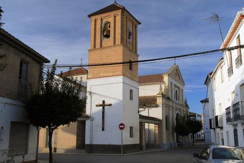 The church of Fuente Vaqueros