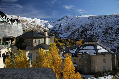 Pradollano; the ski resort of Monachil
