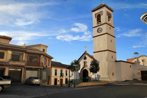 The church of Moraleda de Zafayona