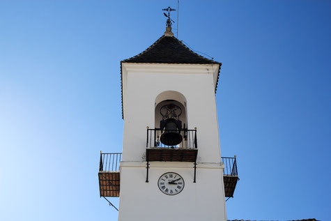 The church of Víznar