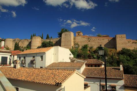 City Wall Alcazaba Cadima