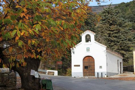 Ermita de la Virgen de las Angustias in Pórtugos
