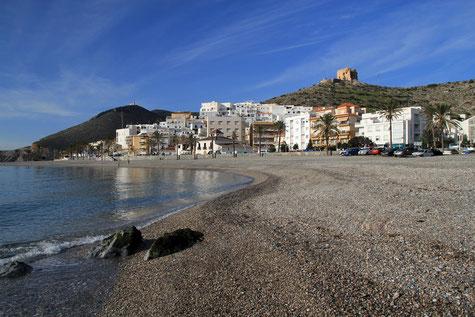 The beach of Castell de Ferro